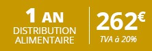 DISTRIBUTION ALIMENTAIRE 1 AN